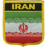 Patch Iran Persia Flag Patch