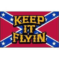 Vlag Keep It Flying Rebel Zuidstaten vlag