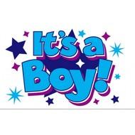 Vlag Its a BOY Stars vlag