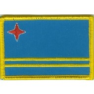Patch Aruba flag patch