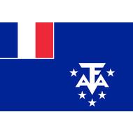 Vlag Franse Zuidelijke en Antarctische Gebieden vlag