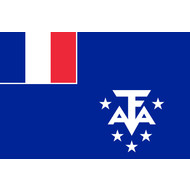 Vlag French Southern and Antarctic Lands flag