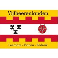 Vlag Vijfheerenlanden flag