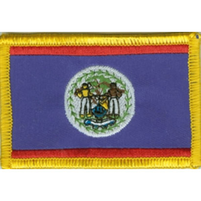 Patch Belize Beliziaanse vlag patch