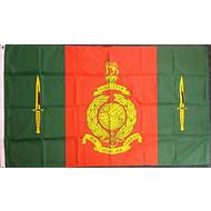 Vlag Commando Training Centre Royal Marines vlag