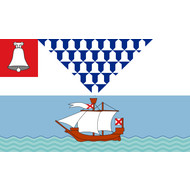 Vlag Belfast City flag