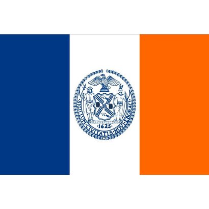 Vlag New York City Stad vlag