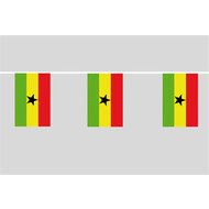 Vlaggenketting Ghana flag chain