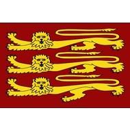 Vlag Royal Banner van Koning Richard I 1198–1340