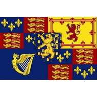 Vlag Royal Standard of King William III and II-1689–1702