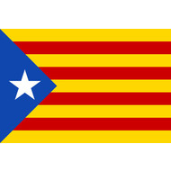 Vlag Catalonia Estelada blava vlag