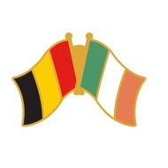 Speldje Belgium - Ireland Friendship Pin