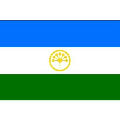 Vlag Bashkortostan vlag