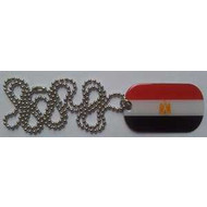 Dog Tag Egypt flag Dog Tag