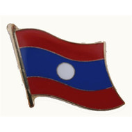 Speldje Laos flag lapel Pin