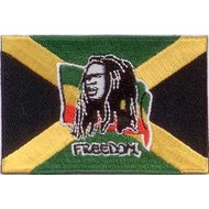 Patch Bob Marley Freedom flag patch