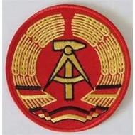 Patch DDR Oost Duitsland vlag patch