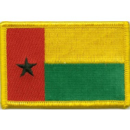 Patch Guinea Bissau flag patch