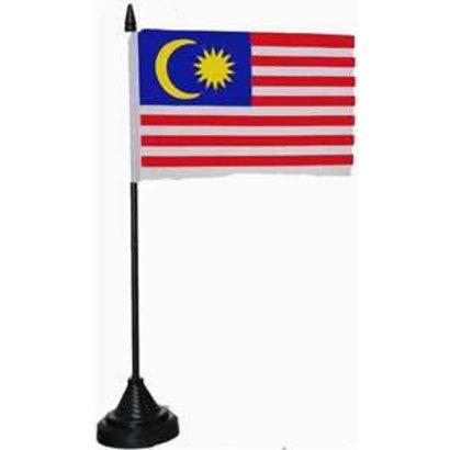 Tafelvlag Maleisie flag tafelvlag