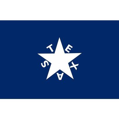 Vlag Bonnie Blue Texas vlag