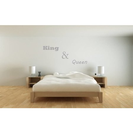 Muursticker King & Queen