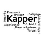 Muursticker Kapper