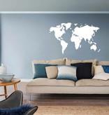 muursticker wereldkaart muursticker4sale muurstickers en