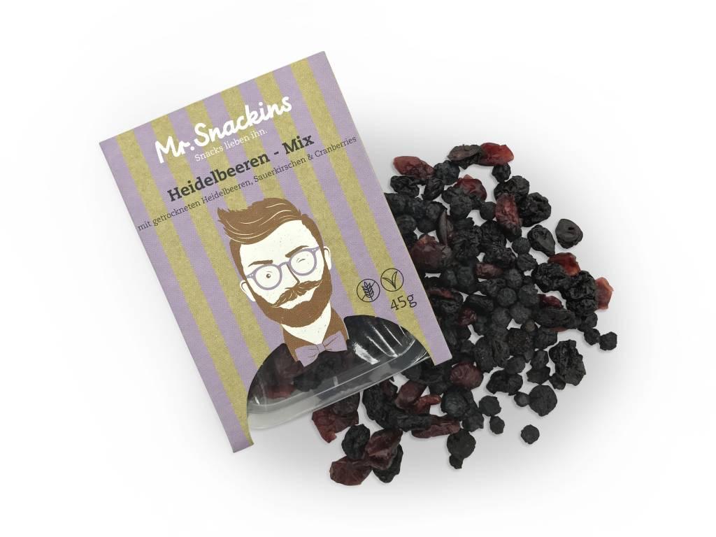 Heidelbeeren Mix mit Sauerkirschen & Cranberries
