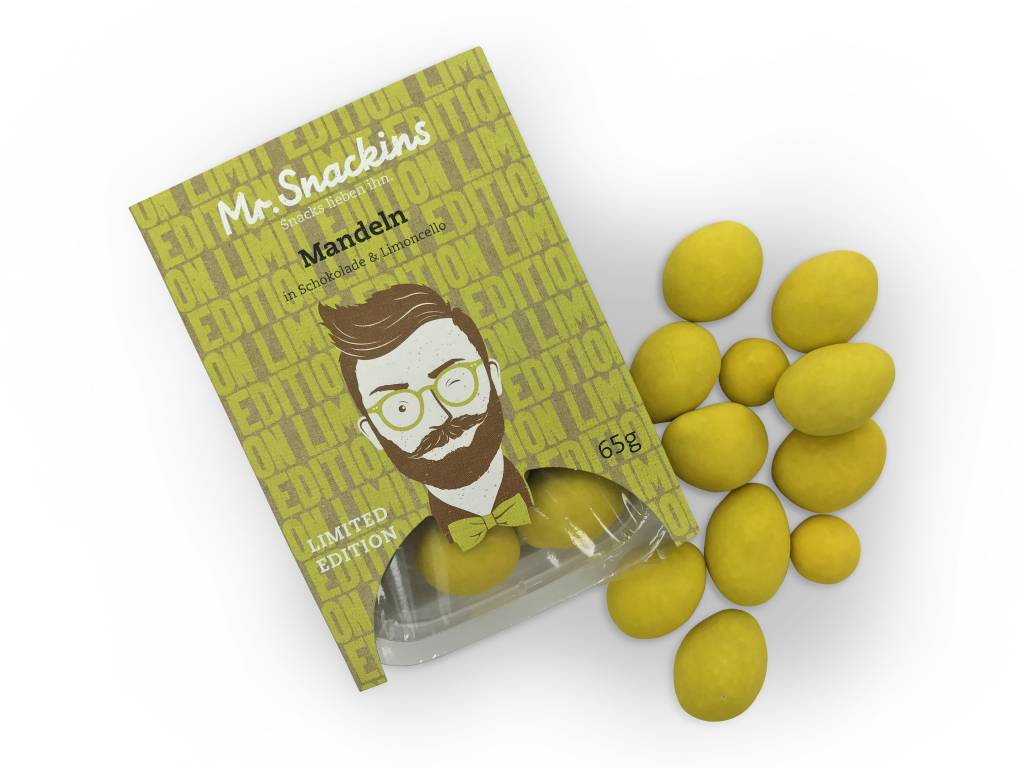 Limited Edition! Mandeln in Schokolade & Limoncello