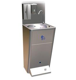 Standaard handwas-meubel met dispensers