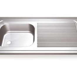 Sink Units Rectangular with right drainboard