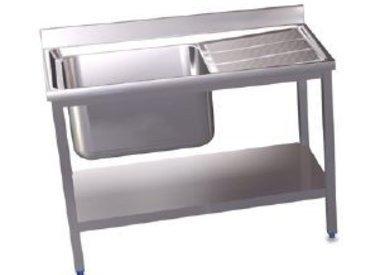 Floor-mounted sink units