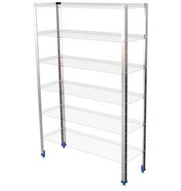 Warehouse shelving Supports