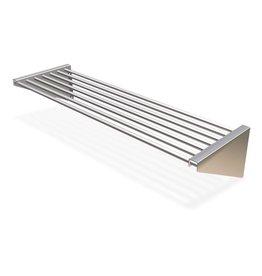 Tube wall shelves