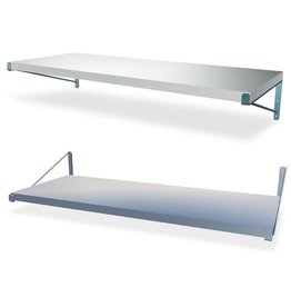 Wall shelve with seperate supports (open type)