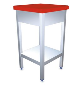 Polyethylene and stainless steel chopping block : Reinforced