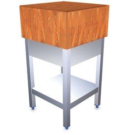 Hakblok hout met onderstel