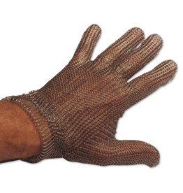 Mesh gloves in stainless steel expert model