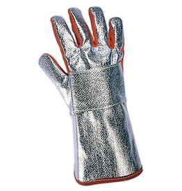 Protective gloves against hot liquids