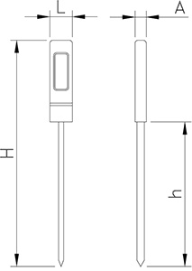 Basic Digital Thermometer