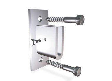 Wall mount for bars