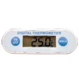 Thermometer with probe screw