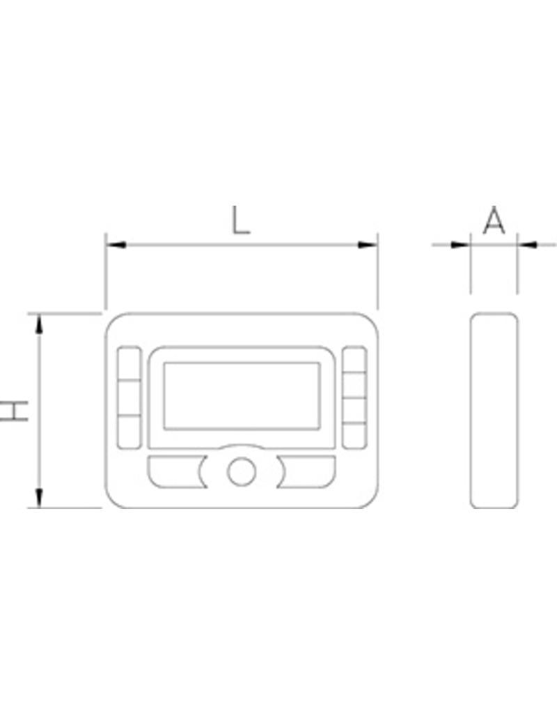 Digitale keukenklok