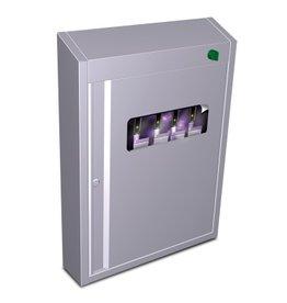 Sterilisatorkast met UV voor messen