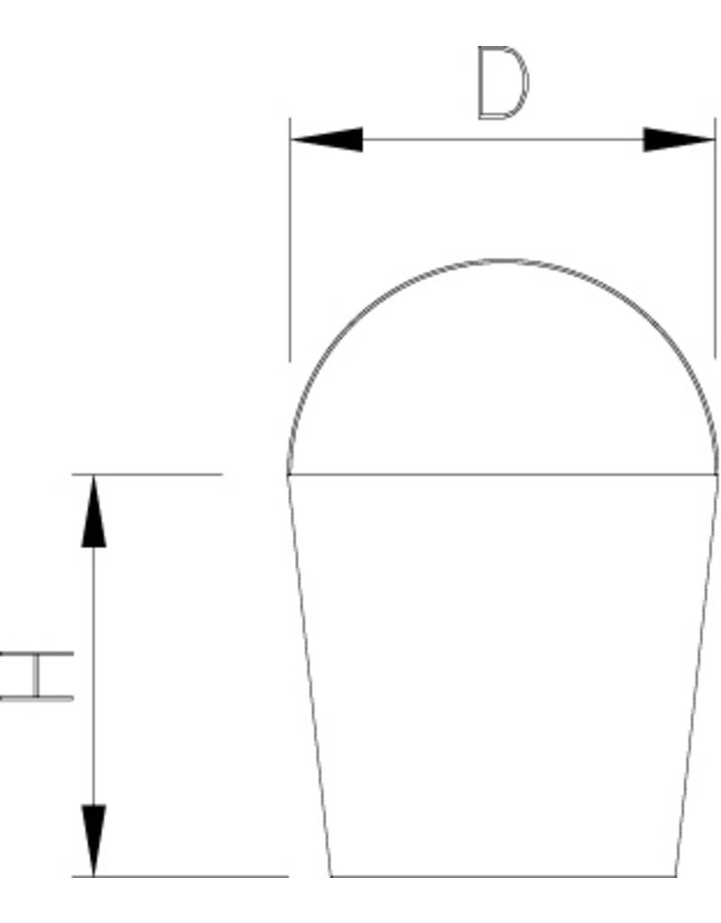 Bucket in HDPE