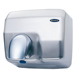 Optical hand dryer with nose