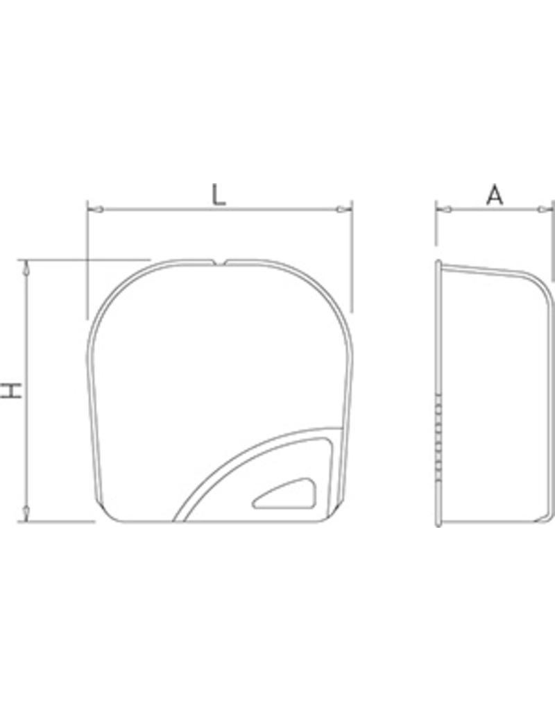 ABS optische handdroger