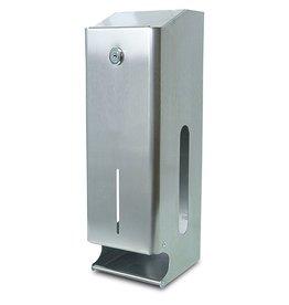 Toilet paper dispenser triple