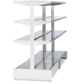 Extension for double rack