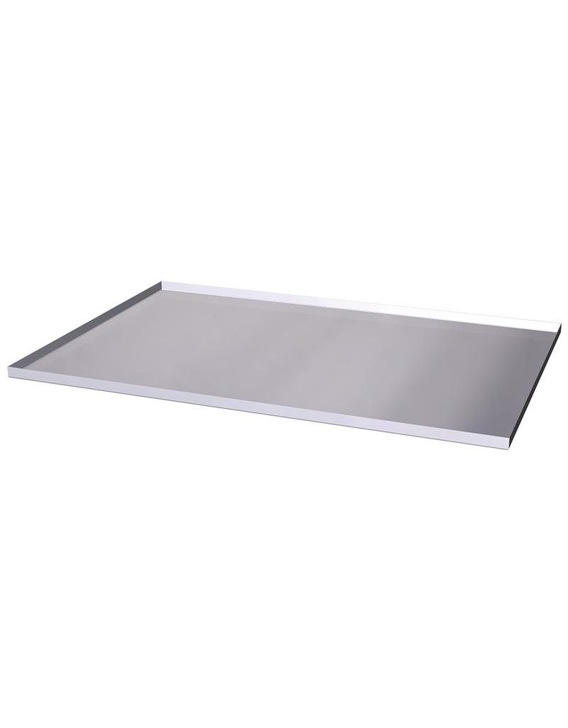 Baking tray in stainless steel